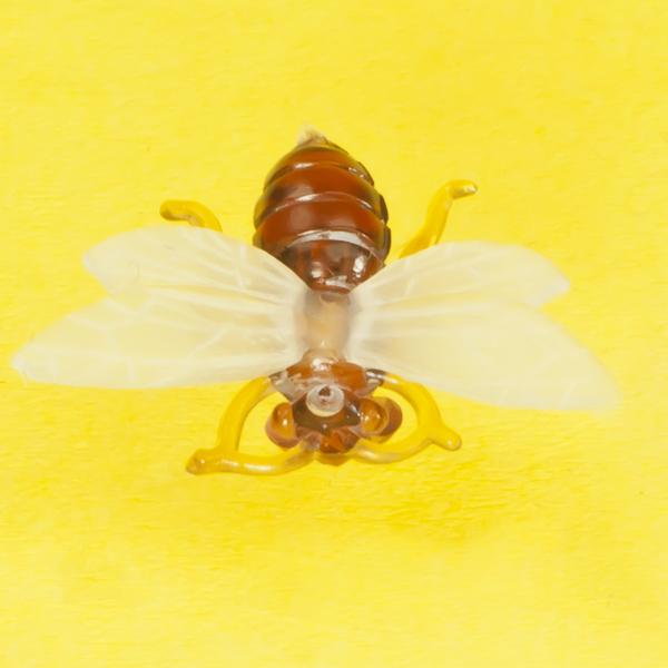 Plastik-Biene für Bienenwachskerzen